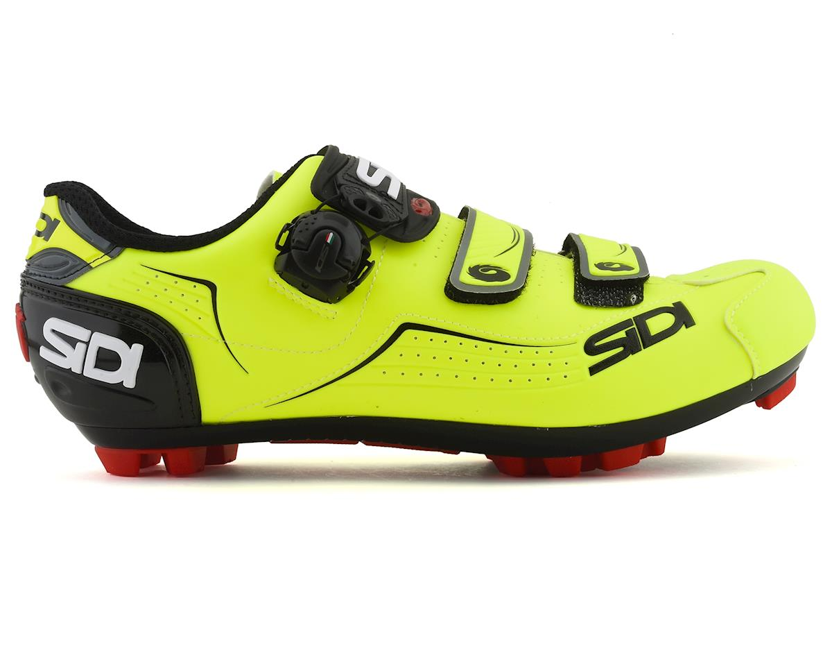 Sidi Trace MTB Shoes (Yellow Fluo/Black) (41.5)