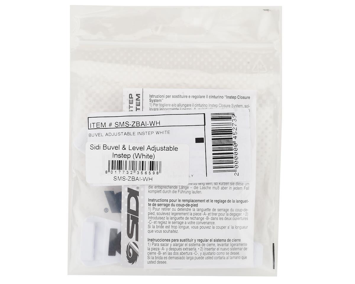 Sidi Buvel & Level Adjustable Instep Straps (White)