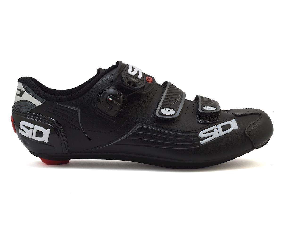 Sidi Alba Men's Carbon Road Shoe (Black/Black) (42)