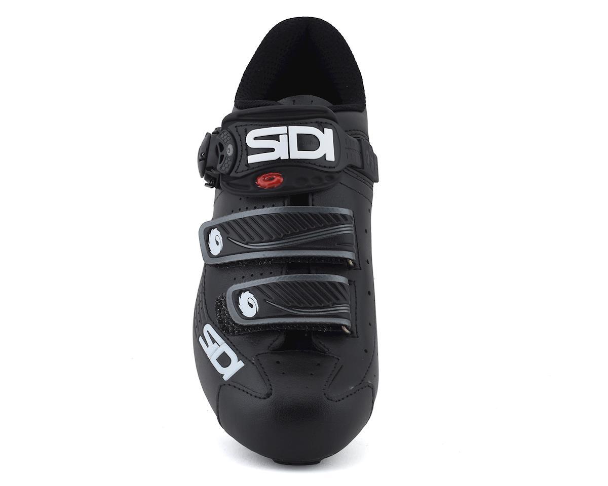 Sidi Alba Men's Carbon Road Shoe (Black/Black) (49)