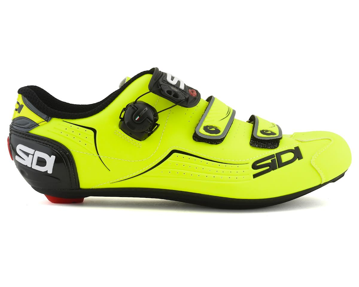 Sidi Alba Road Shoes (Yellow Fluo/Black) (45.5)
