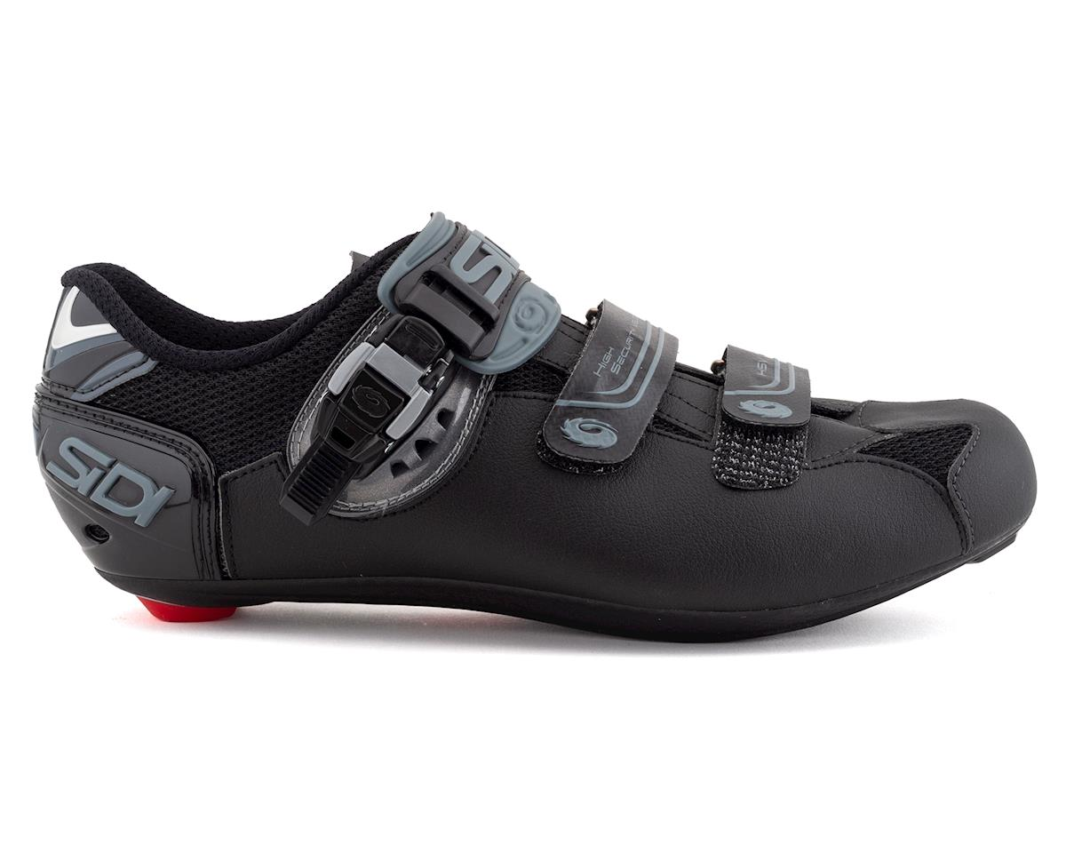 Sidi Genius 7 Mega Road Shoes (Shadow Black) (Mega 44)