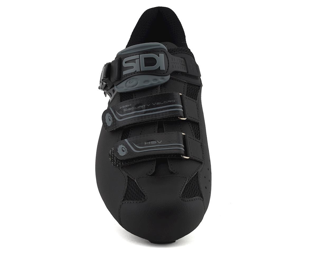 Sidi Genius 7 Mega Road Shoes (Shadow Black) (Mega 46.5)