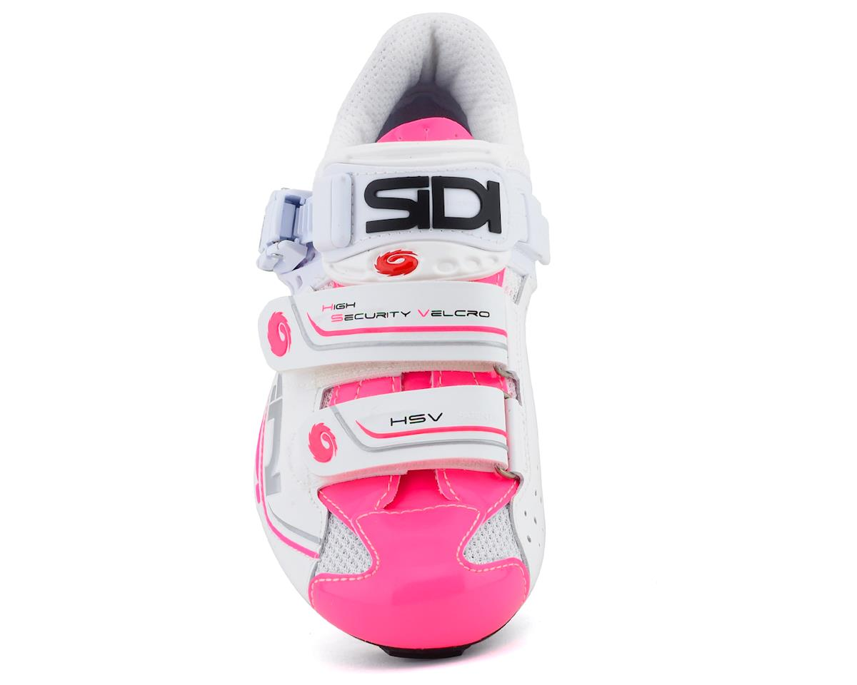 Image 3 for Sidi Genius 7 Womens (White/Pink Fluorescent) (Limited Availability) (37)