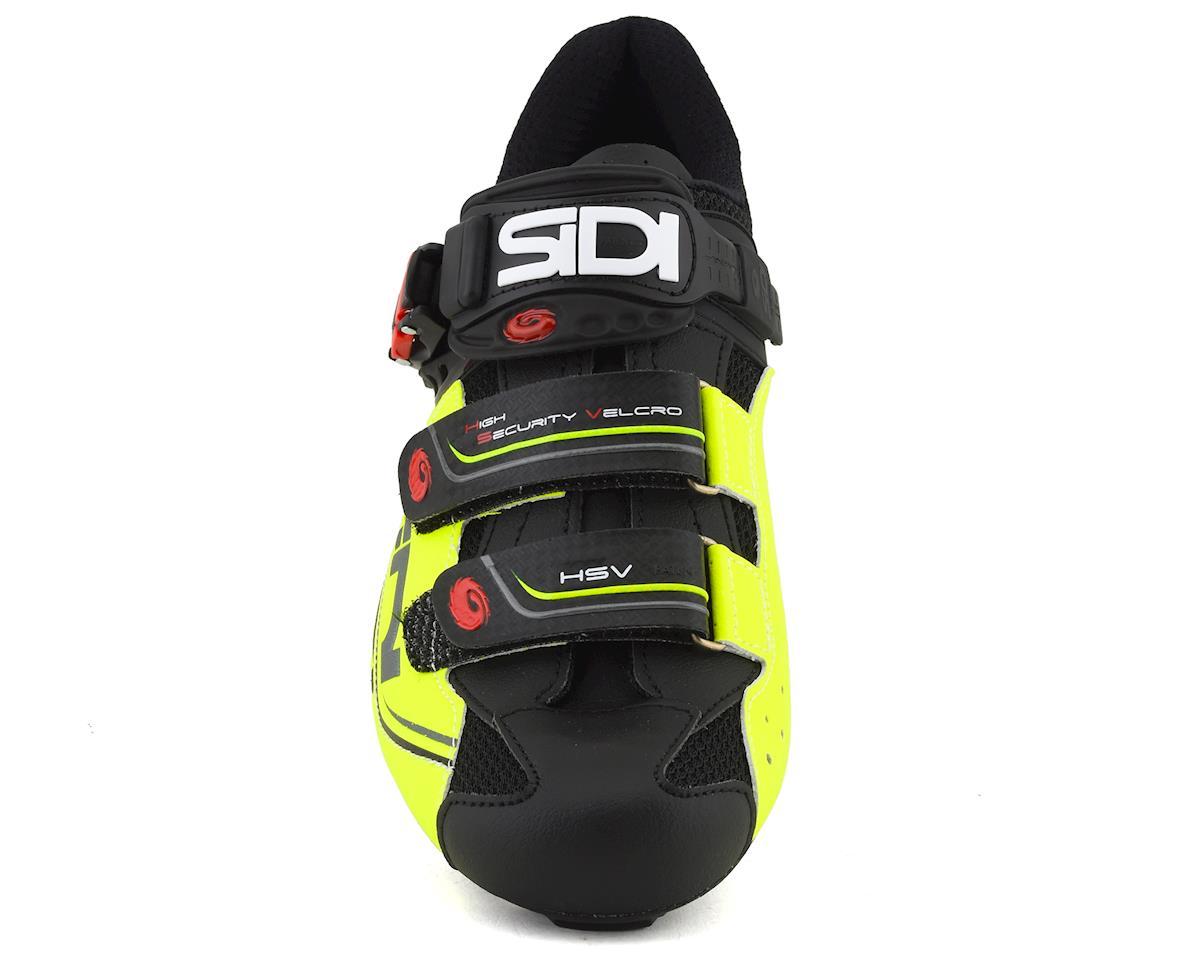 Sidi Genius 7 Road Shoes (Black/Yellow/Black) (42)