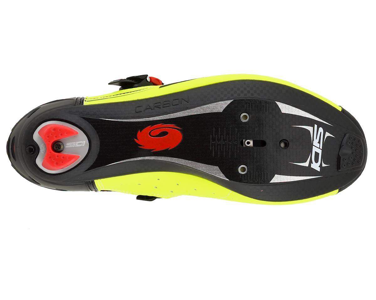 Sidi Genius 7 Road Shoes (Black/Yellow/Black) (45)