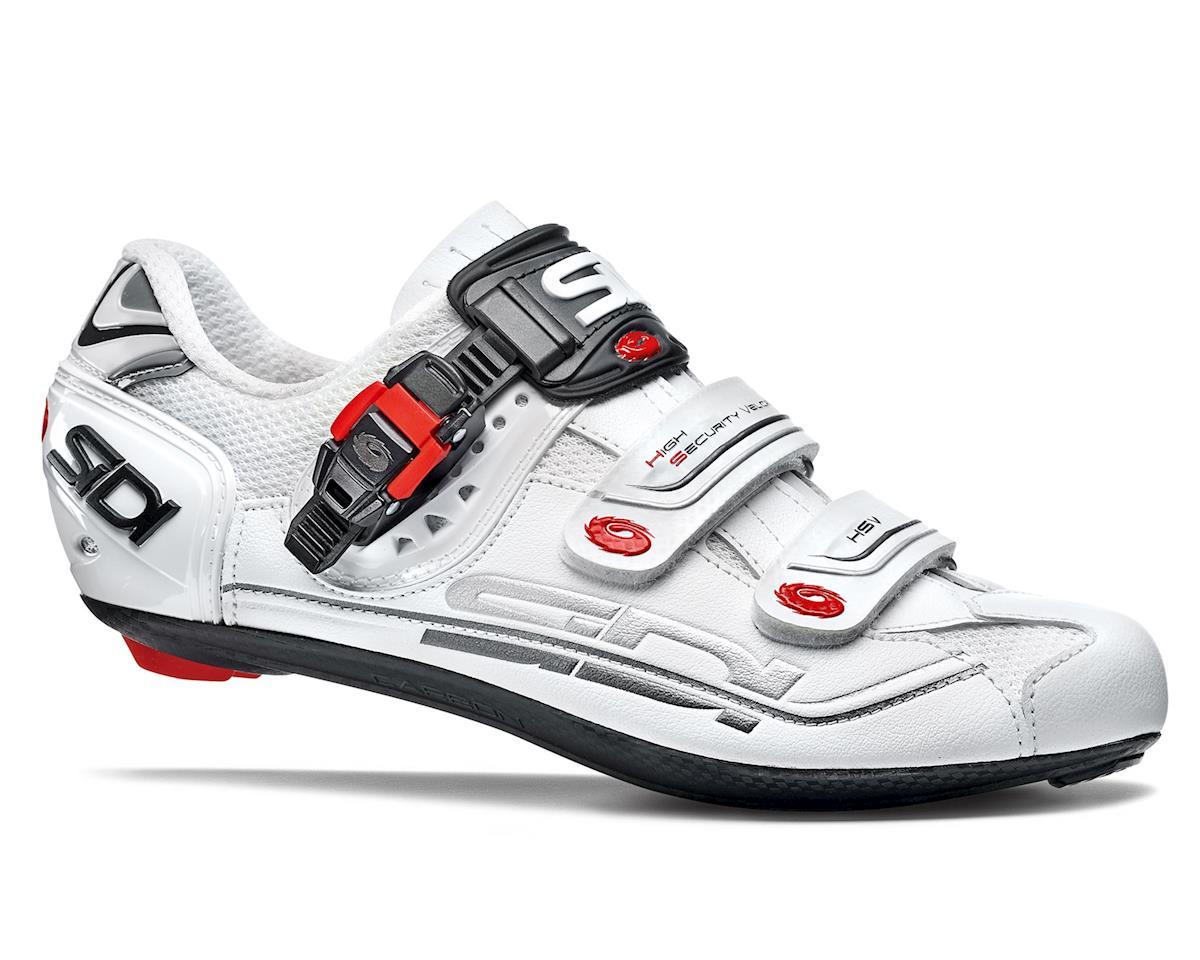 Sidi Genius Fit Carbon Road Shoes (White) (44)