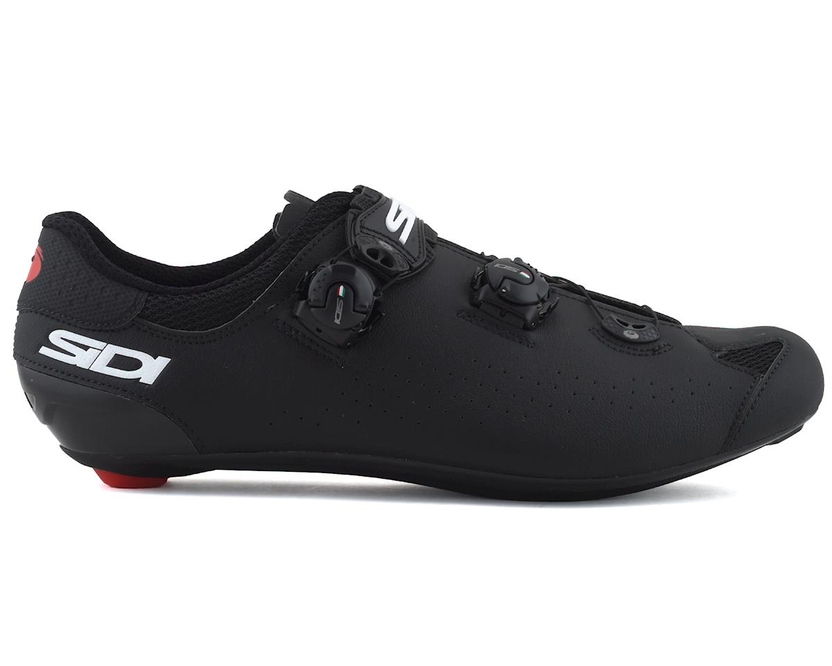 Image 1 for Sidi Genius 10 Road Shoes (Black/Black) (43.5)