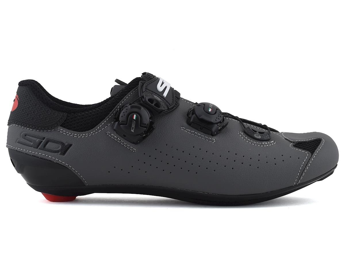 Image 1 for Sidi Genius 10 Road Shoes (Black/Grey) (43)