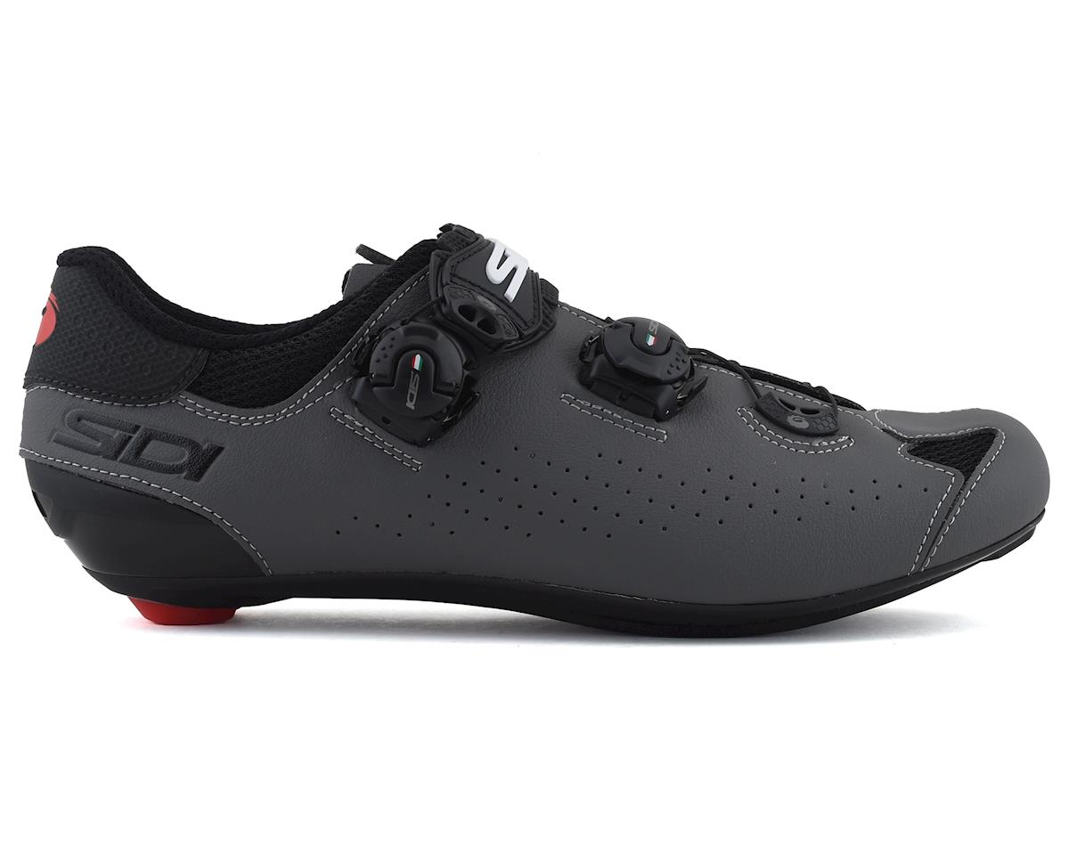 Image 1 for Sidi Genius 10 Road Shoes (Black/Grey) (46.5)