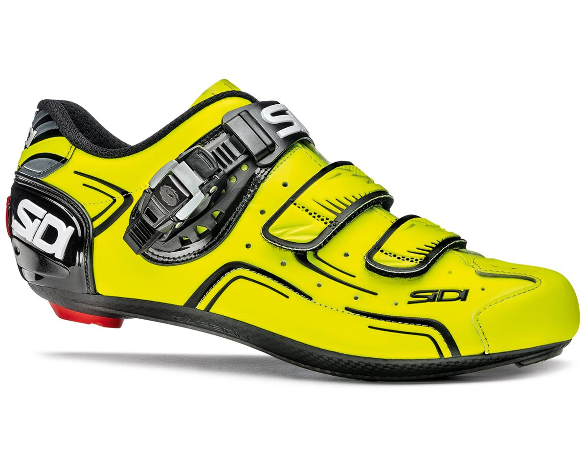 Sidi Level Road Cycling Shoes (Flourescent Yellow/Black) (44.5)