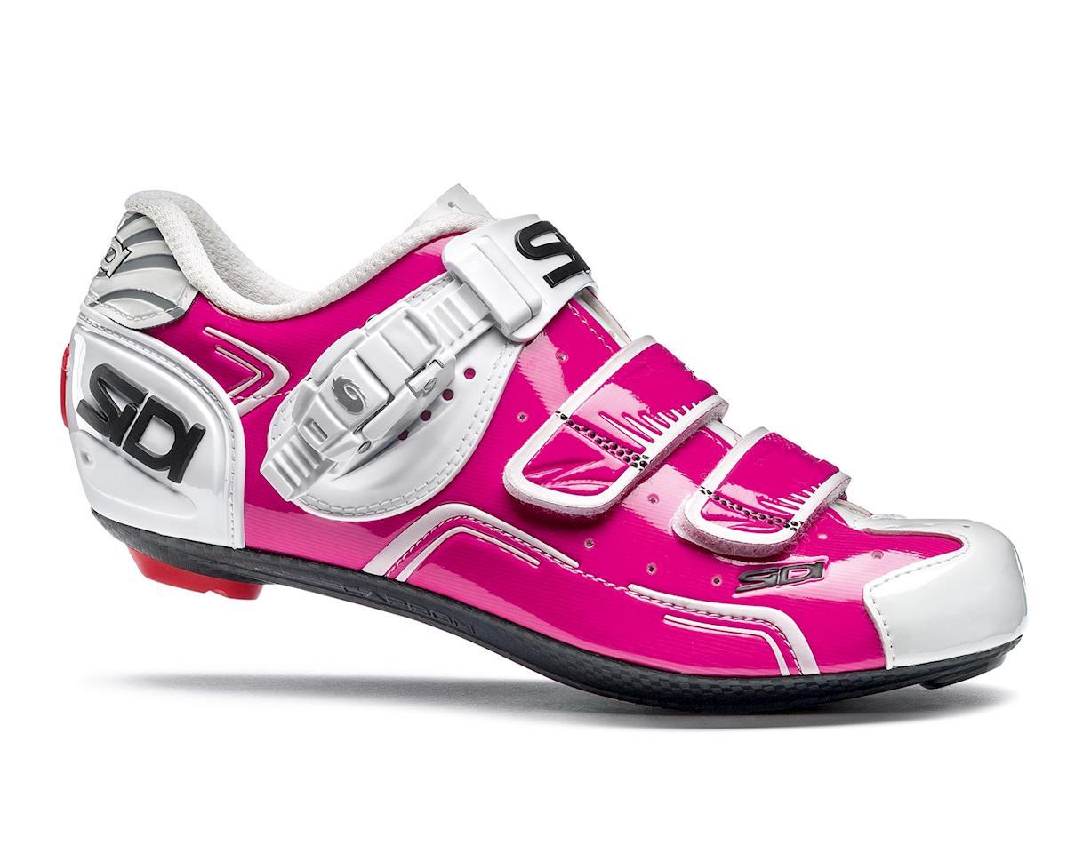 Sidi Level Carbon Women's Road Shoe (Fuschia/White)