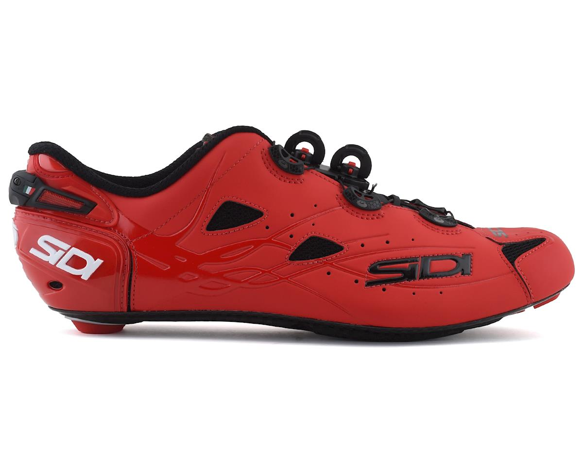 Sidi Shot Road Shoes (Matte Red) (41)
