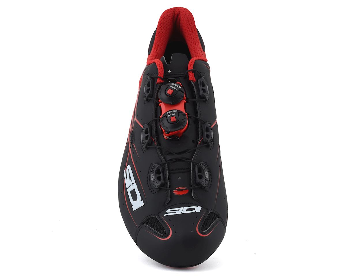 Sidi Shot Road Shoes (Matte Black/Red) (46)