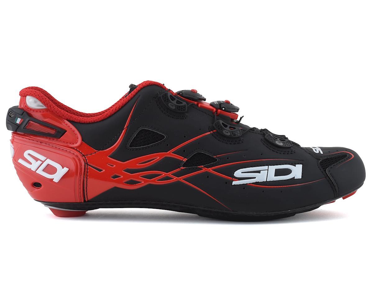 Sidi Shot Road Shoes (Matte Black/Red) (48)