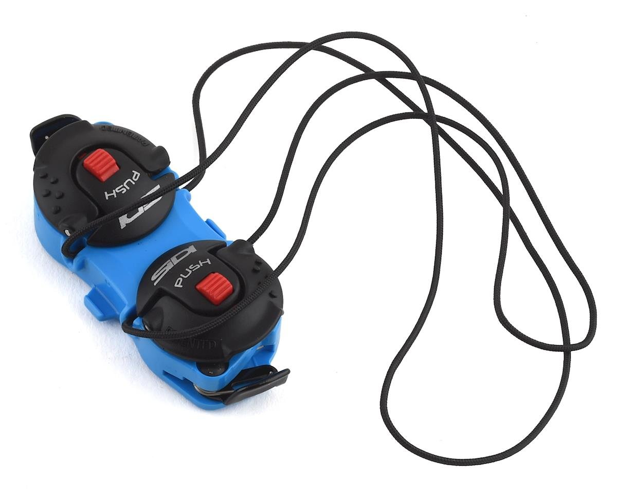 Sidi Shot/Tiger Double Tecno-3 Push Closure System (Blue/Black) (Half Pair)