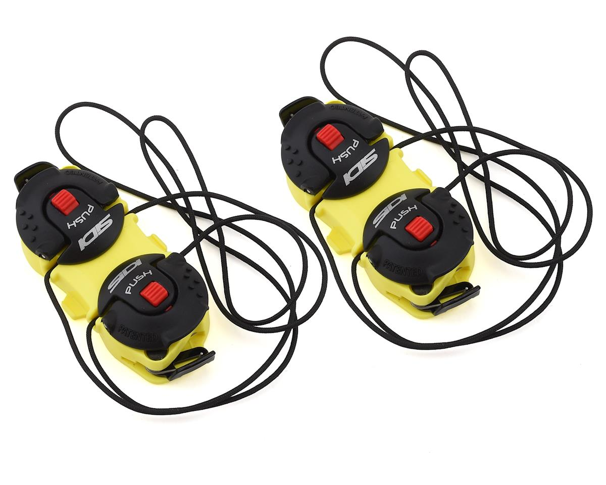 Sidi Shot/Tiger Double Tecno-3 Push Closure System (Yellow/Black) (Pair)