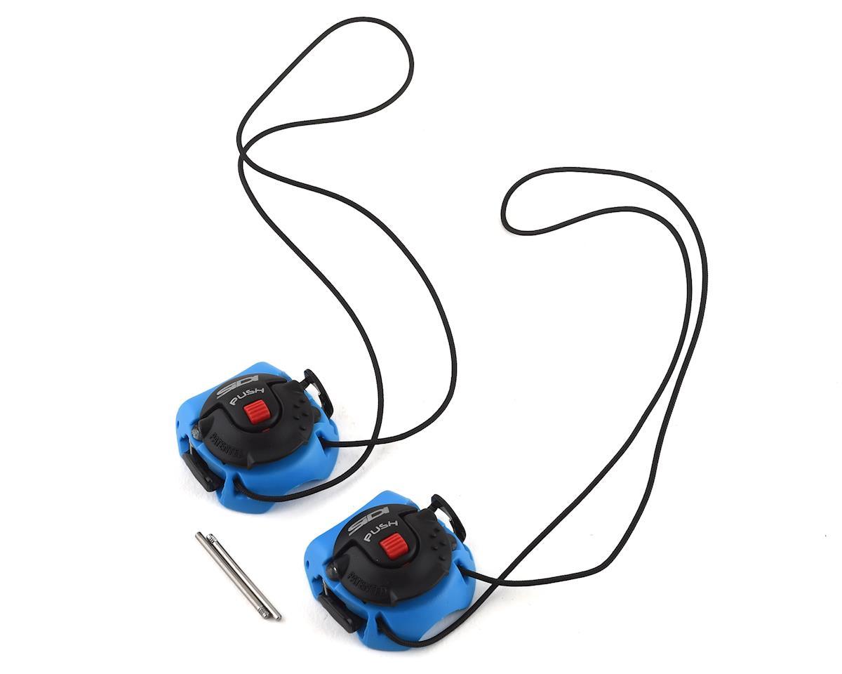 Sidi Tecno-3 Push Buckles (Light Blue/Black) (Long)