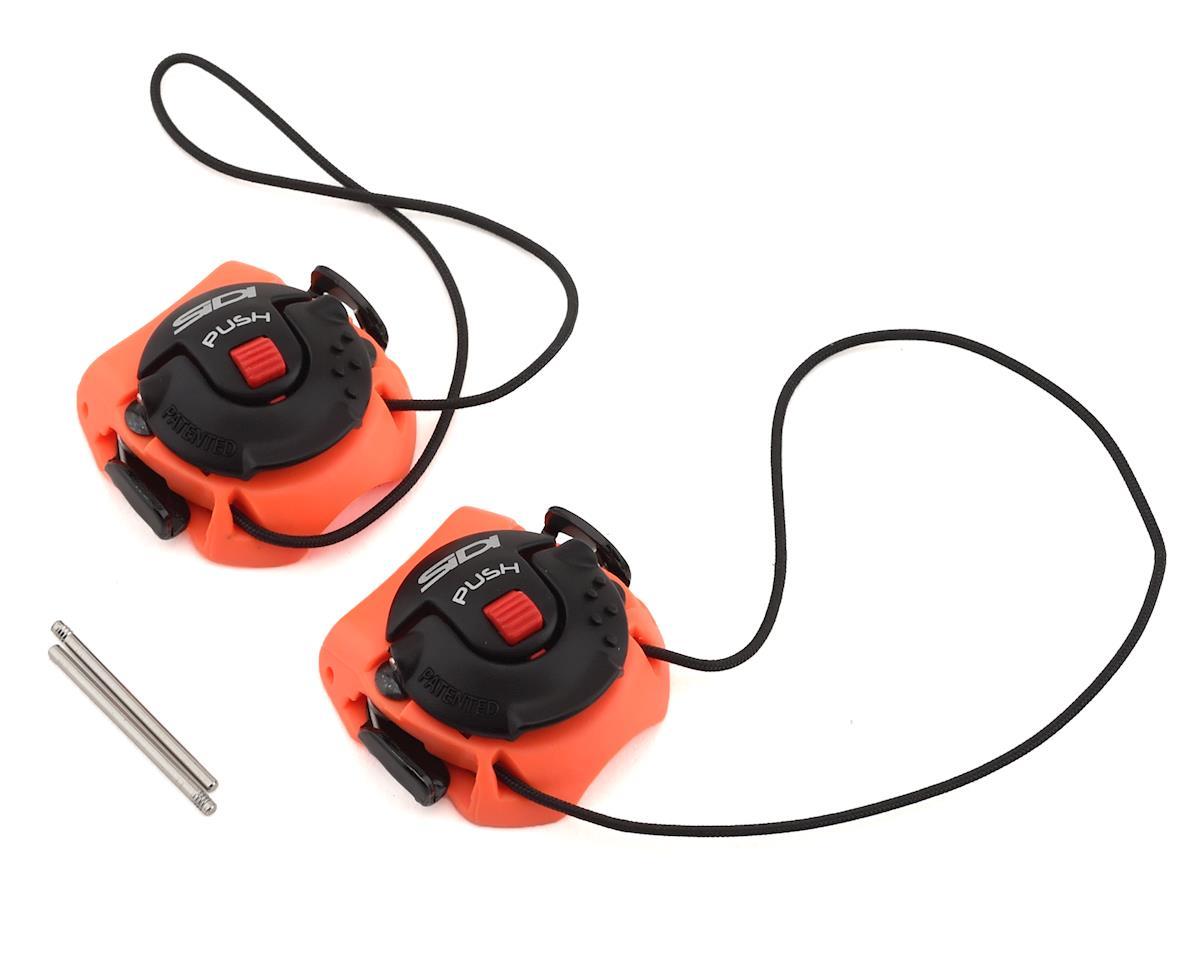 Sidi Tecno-3 Push Buckles (Orange/Black) (Short)