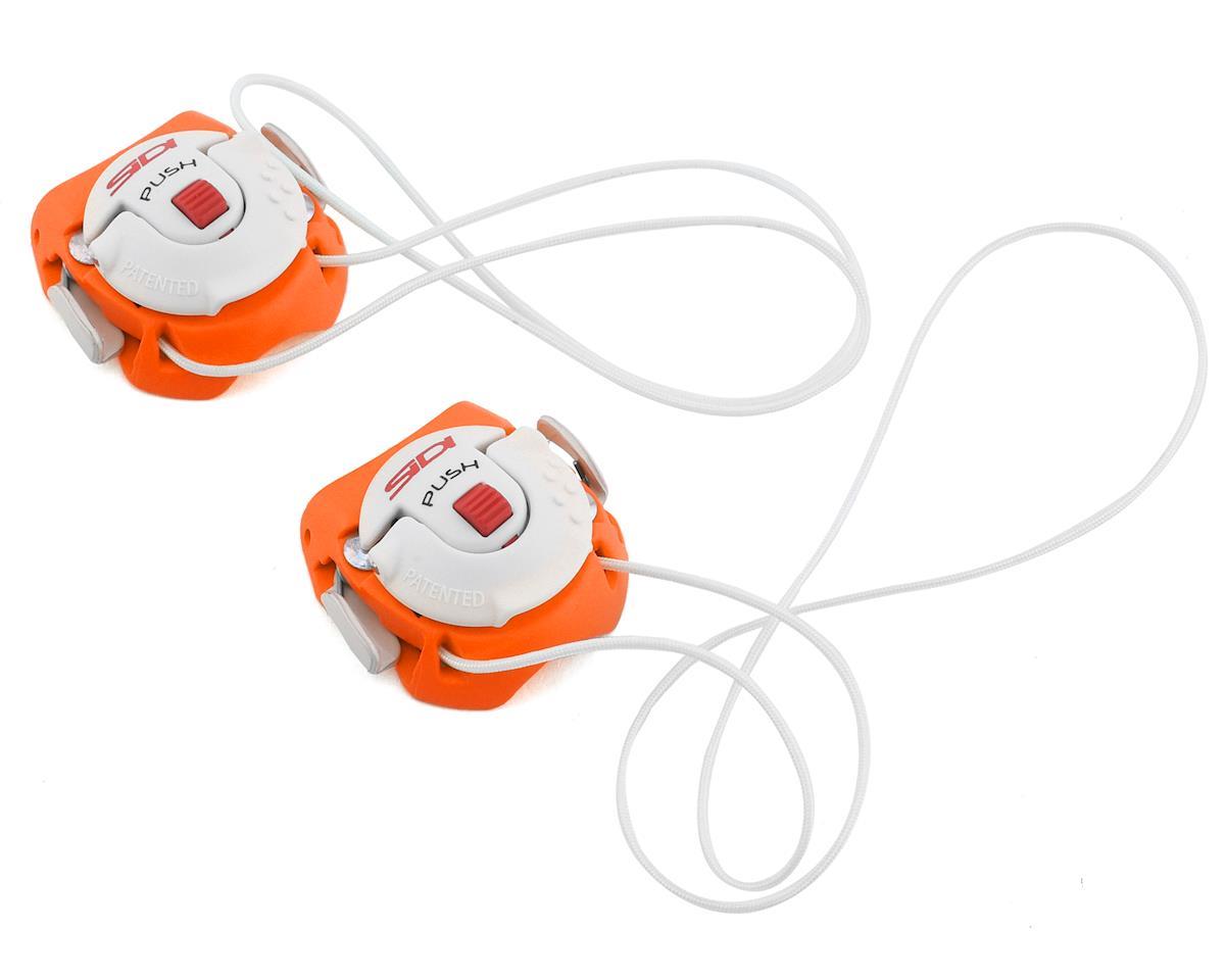 Sidi Tecno-3 Push Buckles (Orange/White) (Long)