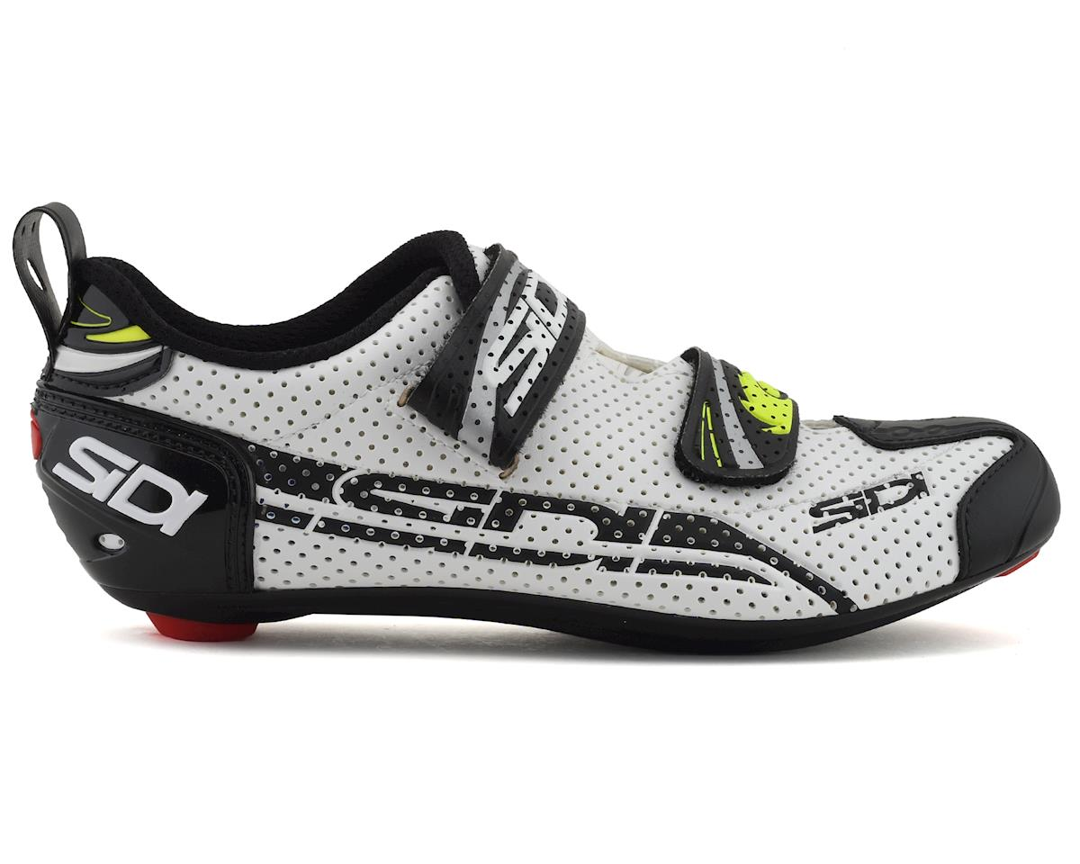 Sidi T-4 Air Carbon Womens Tri Shoes (White/Black) (40)