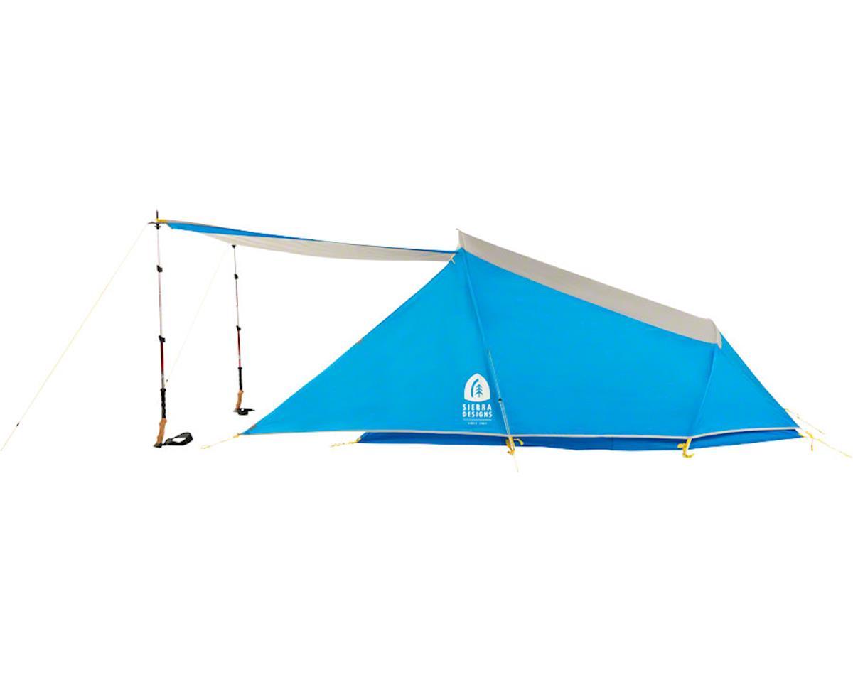 Sierra Designs Clip Flashlight 2 Shelter, Silver Lining/Blue Jewel, 2-person