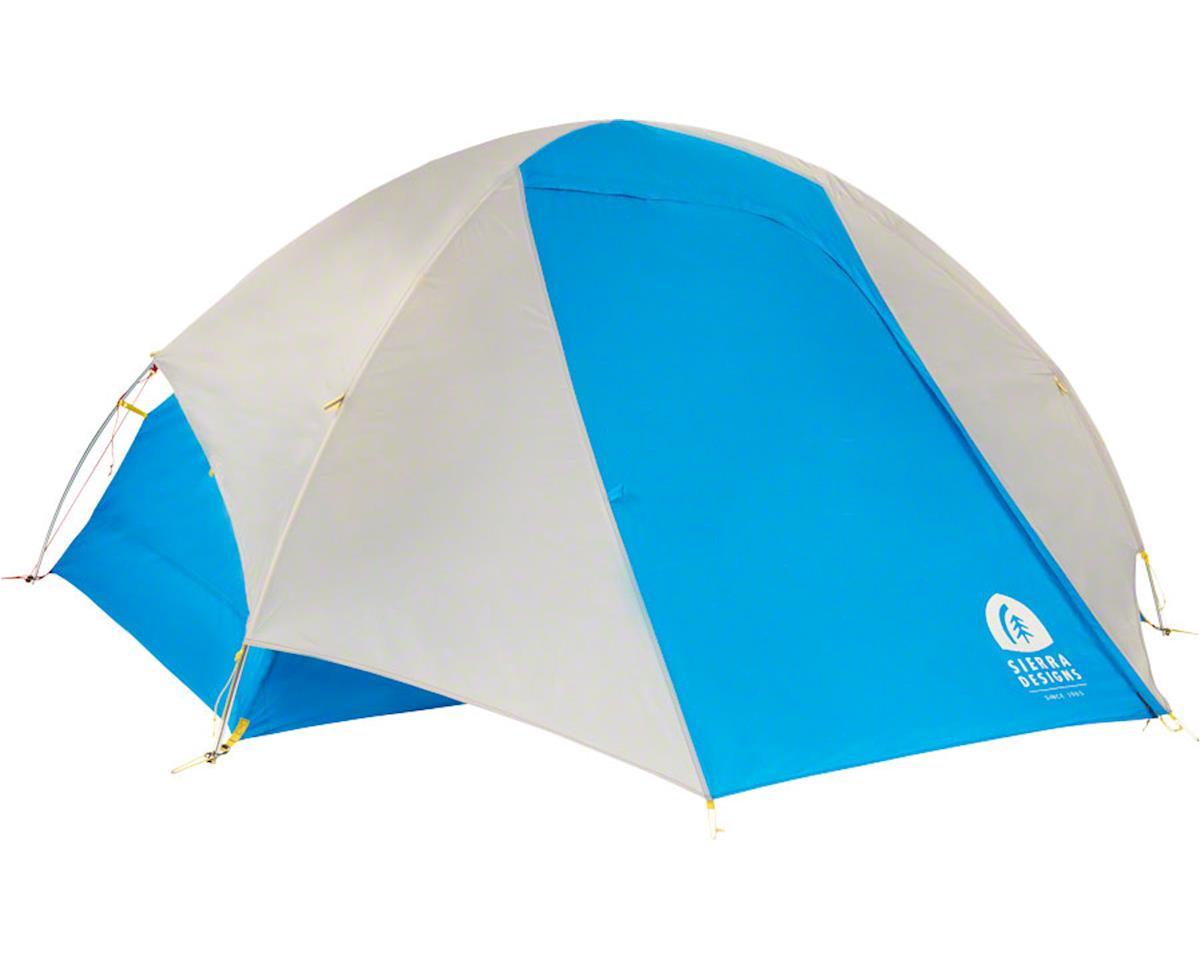 Sierra Designs Summer Moon 2 Shelter, Silver Lining/Blue Jewel, 2-person