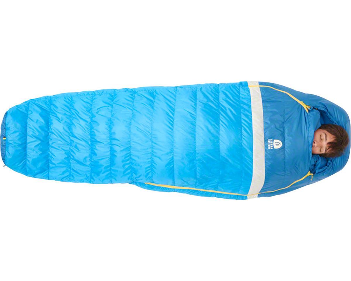 Sierra Designs Zissou Mummy Sleeping Bag, 35F 650fill DriDown, Regular, Blue