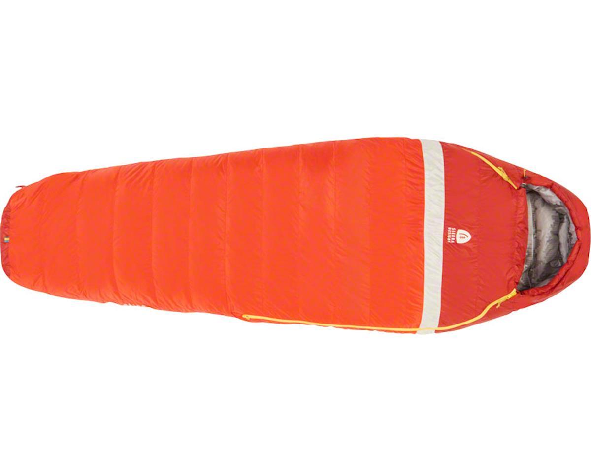 Zissou Mummy Sleeping Bag, 20F, 650fill DriDown, Regular, Red