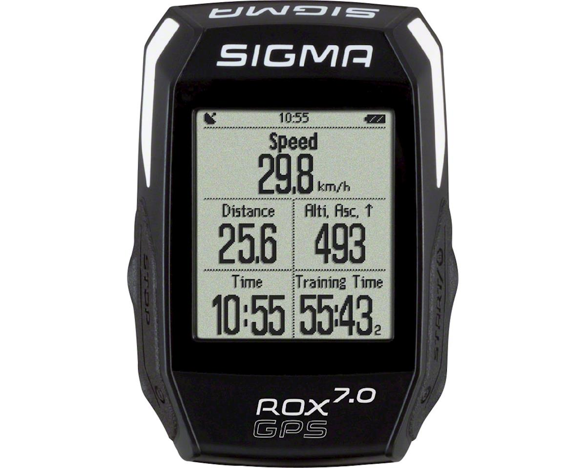 ROX GPS 7.0 Cycling Computer: Black