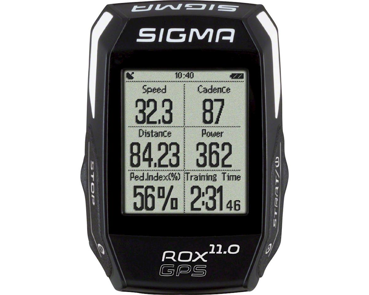 Sigma ROX GPS 11.0 Cycling Computer Basic: Black