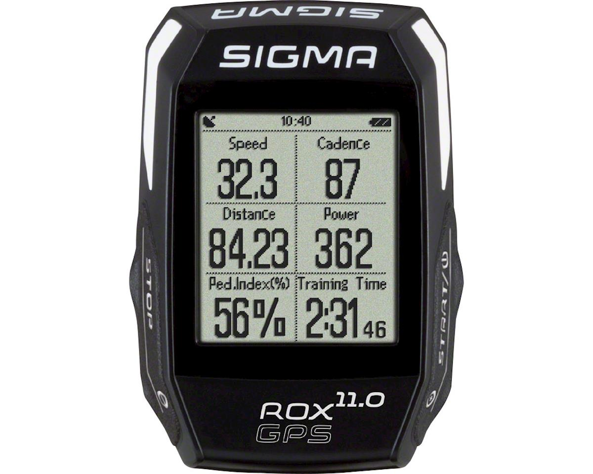Sigma ROX GPS 11.0 Cycling Computer Set: Black