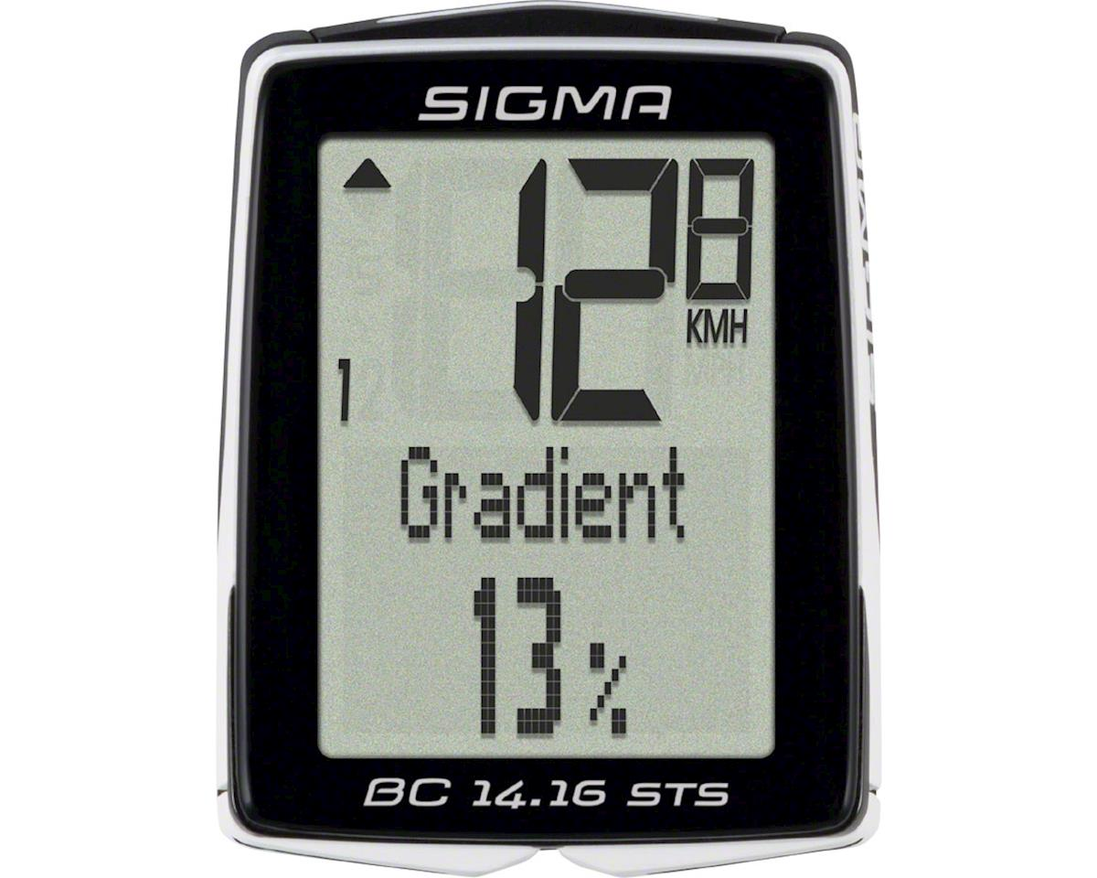 Sigma BC 14.16 STS Cadence Bike Computer - Wireless, Black