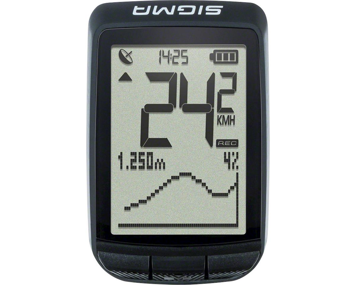 Sigma Pure GPS Cycling Computer: Black