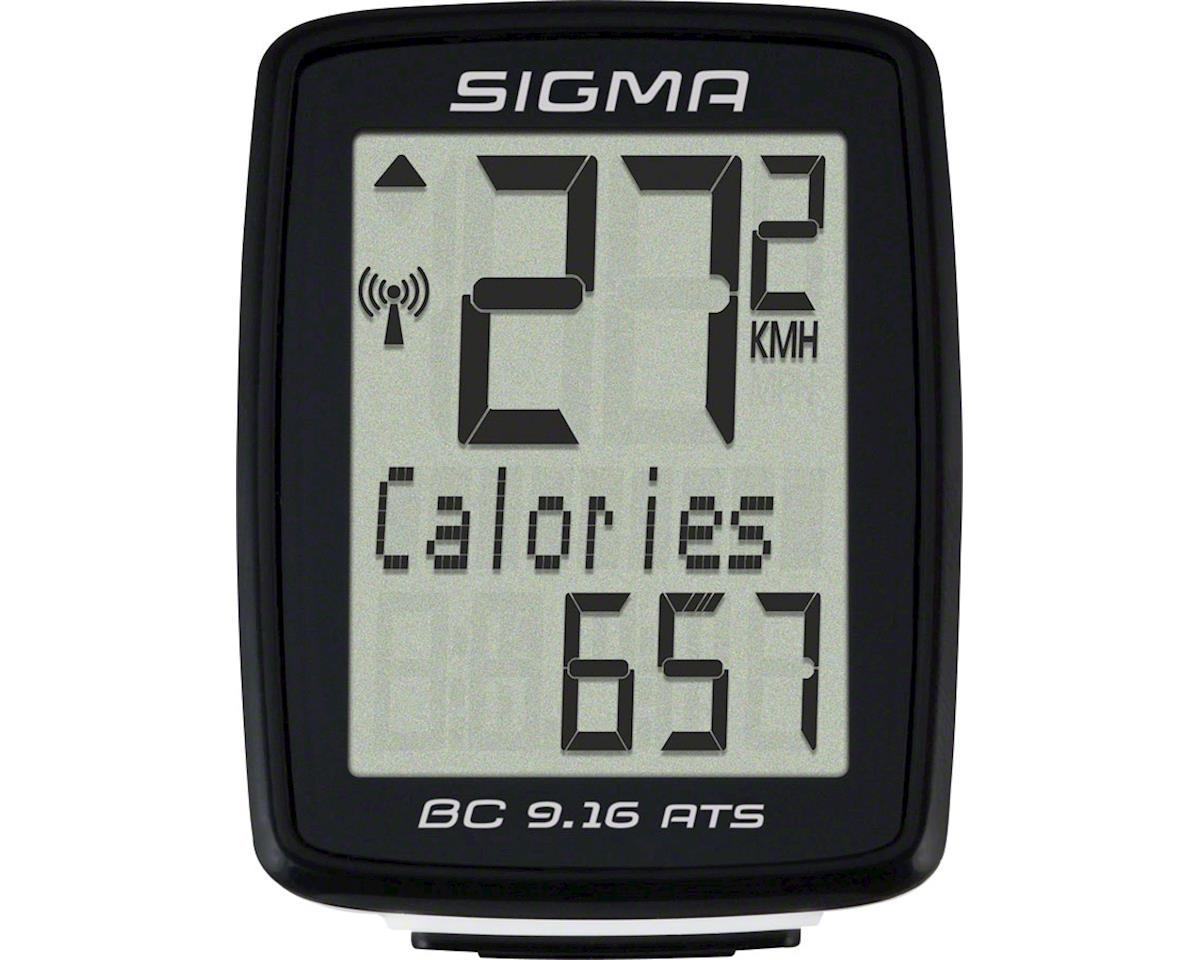 Sigma BC 9.16 ATS Bike Computer - Wireless, Black