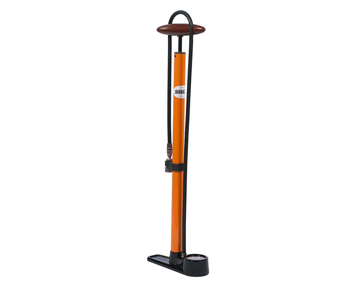 Silca Pista Pump with Track Pack (Orange)