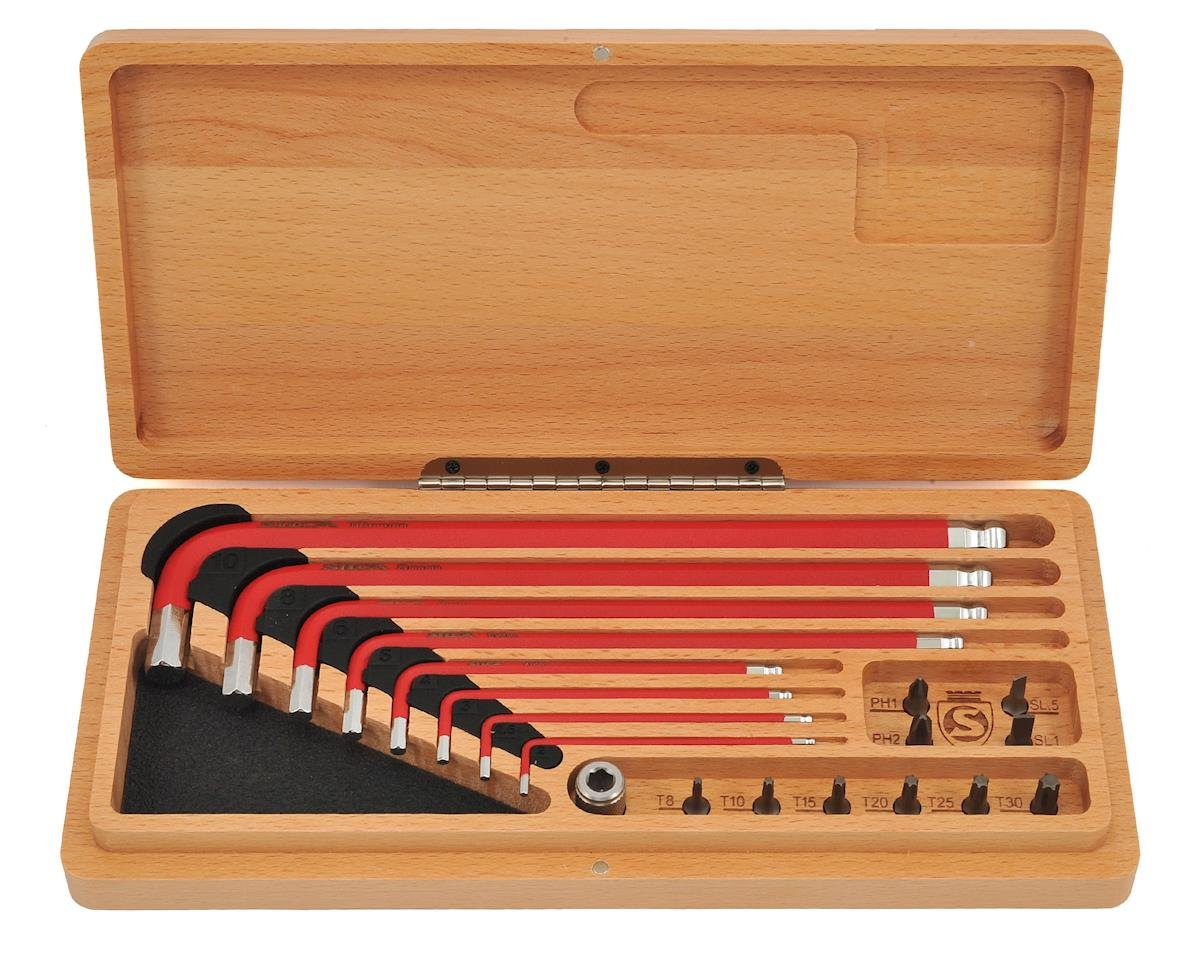 Silca HX1 home and travel tool drive kit in wood box