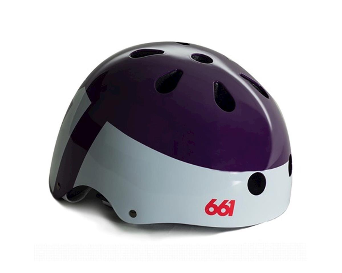 SixSixOne Dirt Lid Helmet (Purple) (One Size)