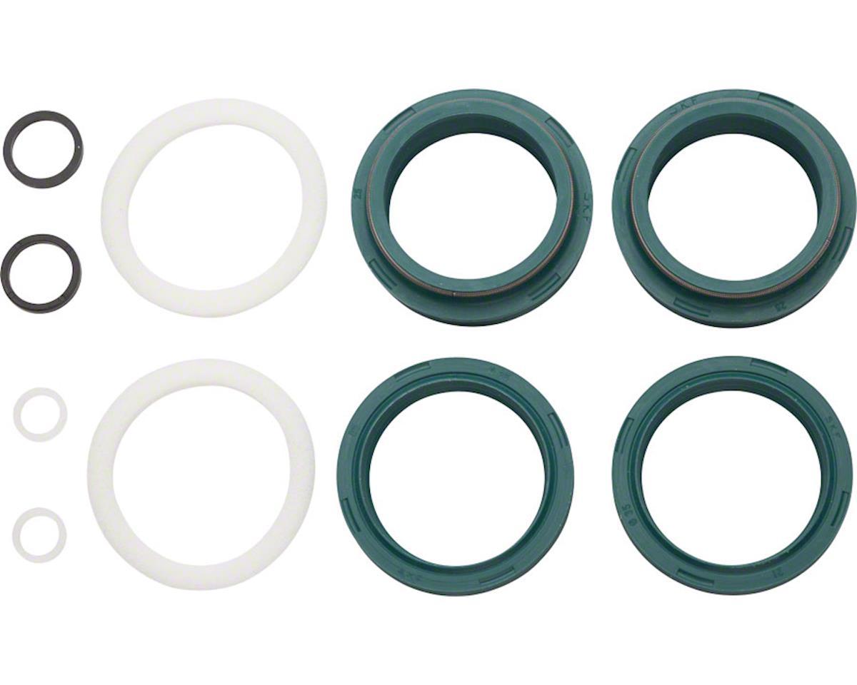 Skf Low-Friction Dust Wiper Seal Kit: RockShox 35mm Flangeless, Fits 2007-Curren