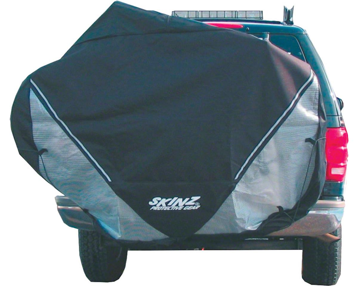 Skinz Hitch Rack Rear Transport Cover: Fits 2-4 Bikes~ Black~ Large