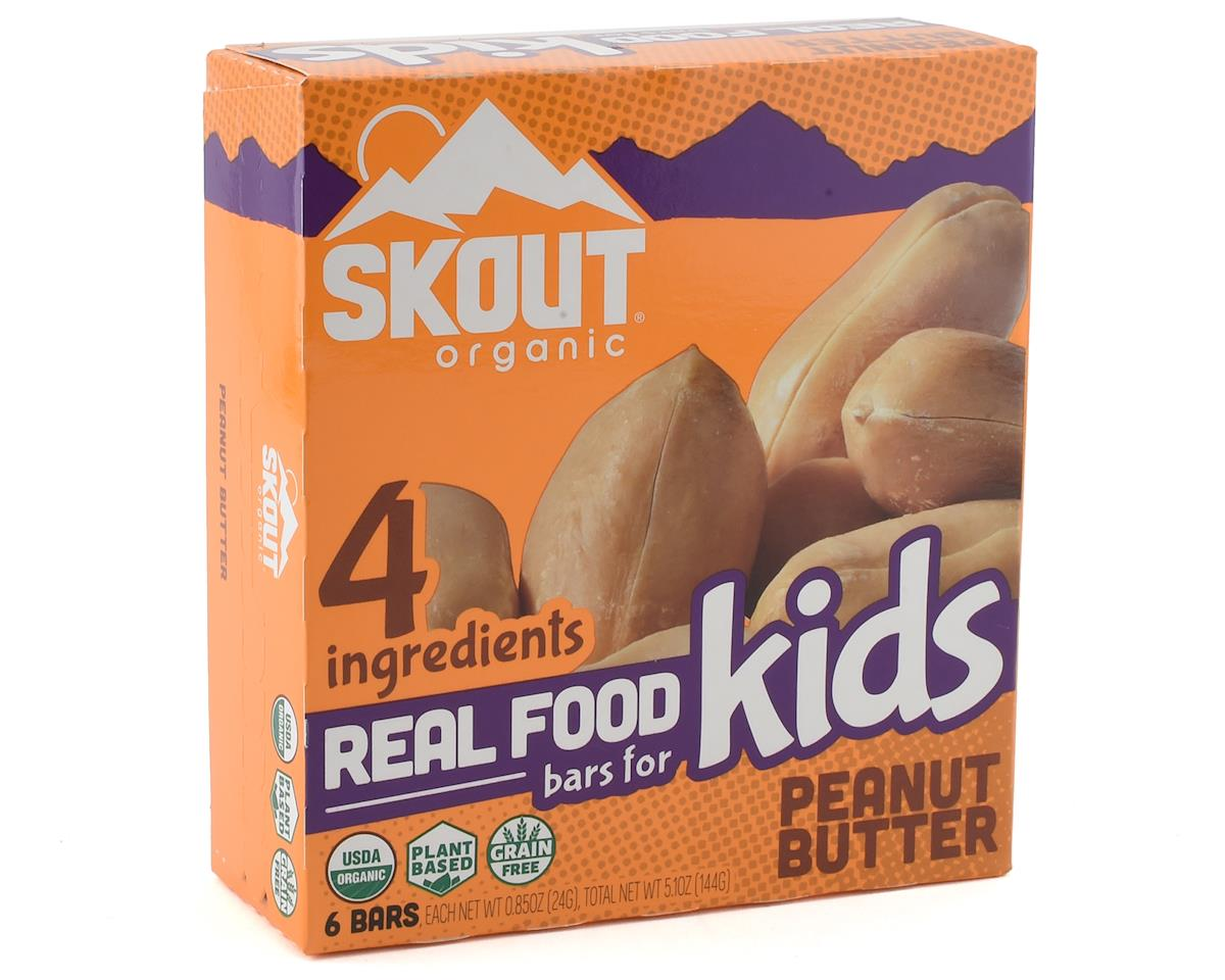 Skout Organic Real Food Bars for Kids  (6 Count) (Peanut Butter)