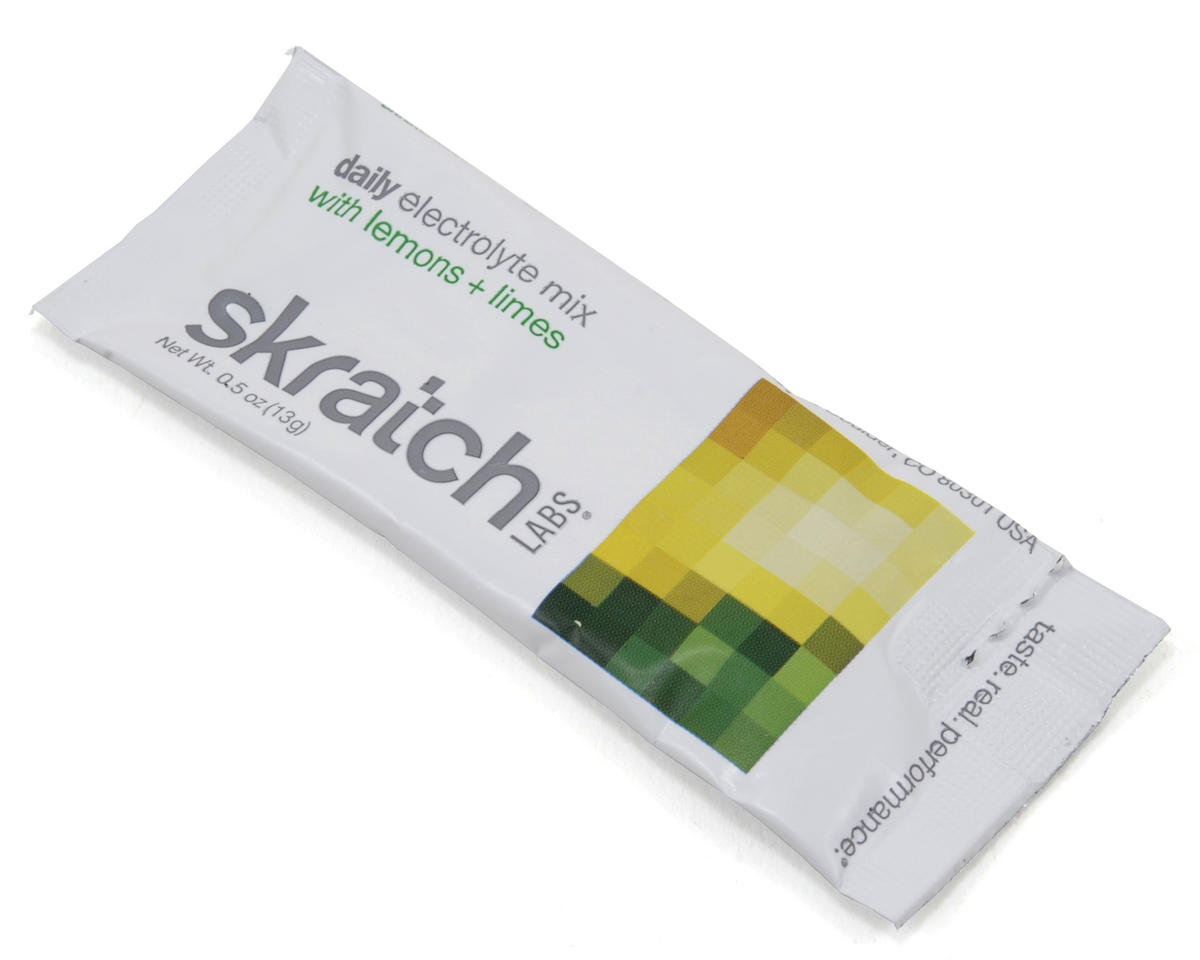 Skratch Labs Daily Electrolyte Drink Mix (20 Pack Singles) (Lemons + Limes)