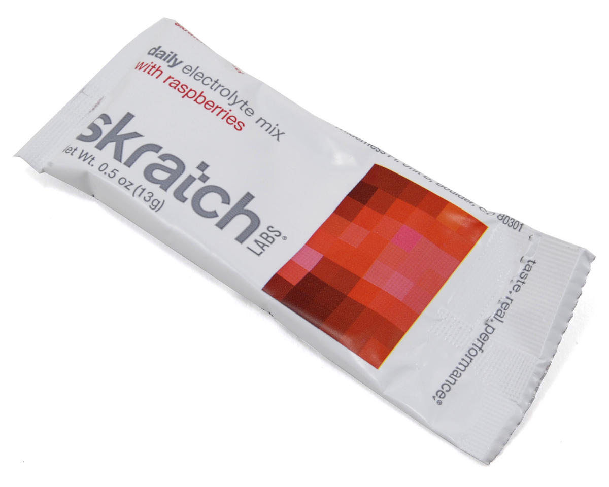 Skratch Labs Daily Electrolyte Drink Mix (20 Pack Singles) (Raspberries)
