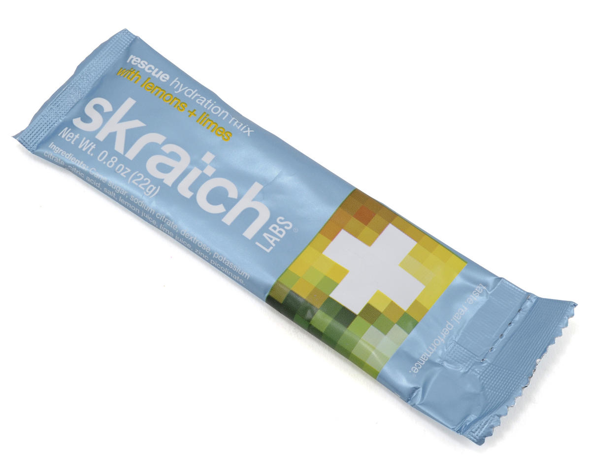 Skratch Labs Rescue Hydration Mix (8 Pack Singles) (Lemons + Limes)