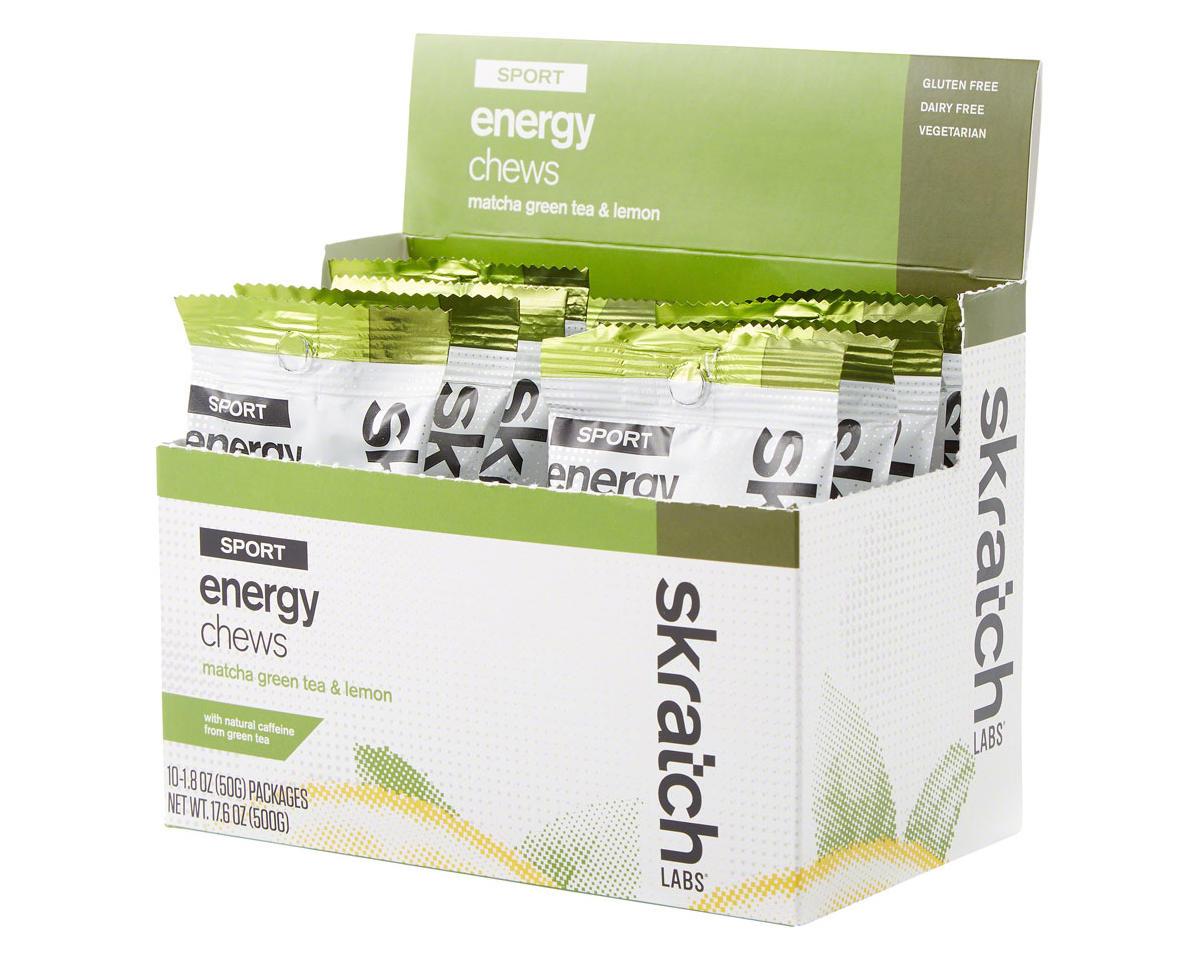 Skratch Labs Sport Energy Chews (Matcha Green Tea & Lemon) (10)