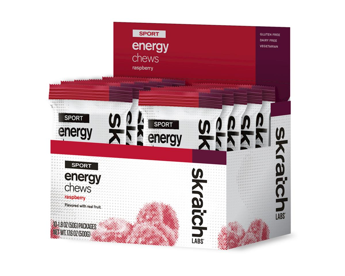 Skratch Labs Sport Energy Chews (Raspberry) (10 1.7oz Packets)