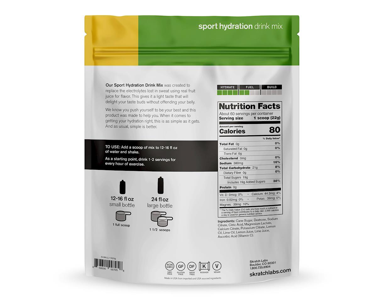 Skratch Labs Sport Hydration Drink Mix (Lemon Lime) (46.5oz)