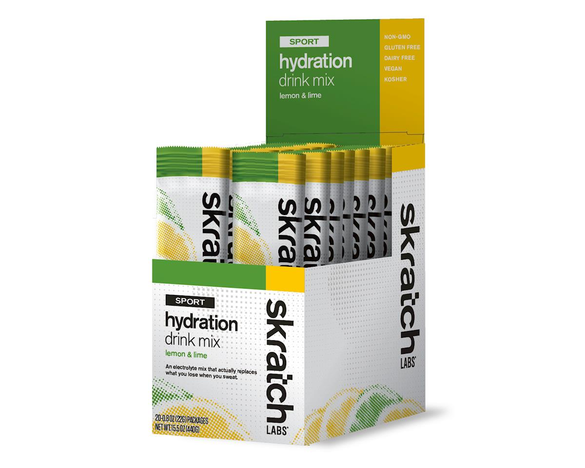 Skratch Labs Sport Hydration Drink Mix - Single Serving 20 Pack (Lemon And Lime)