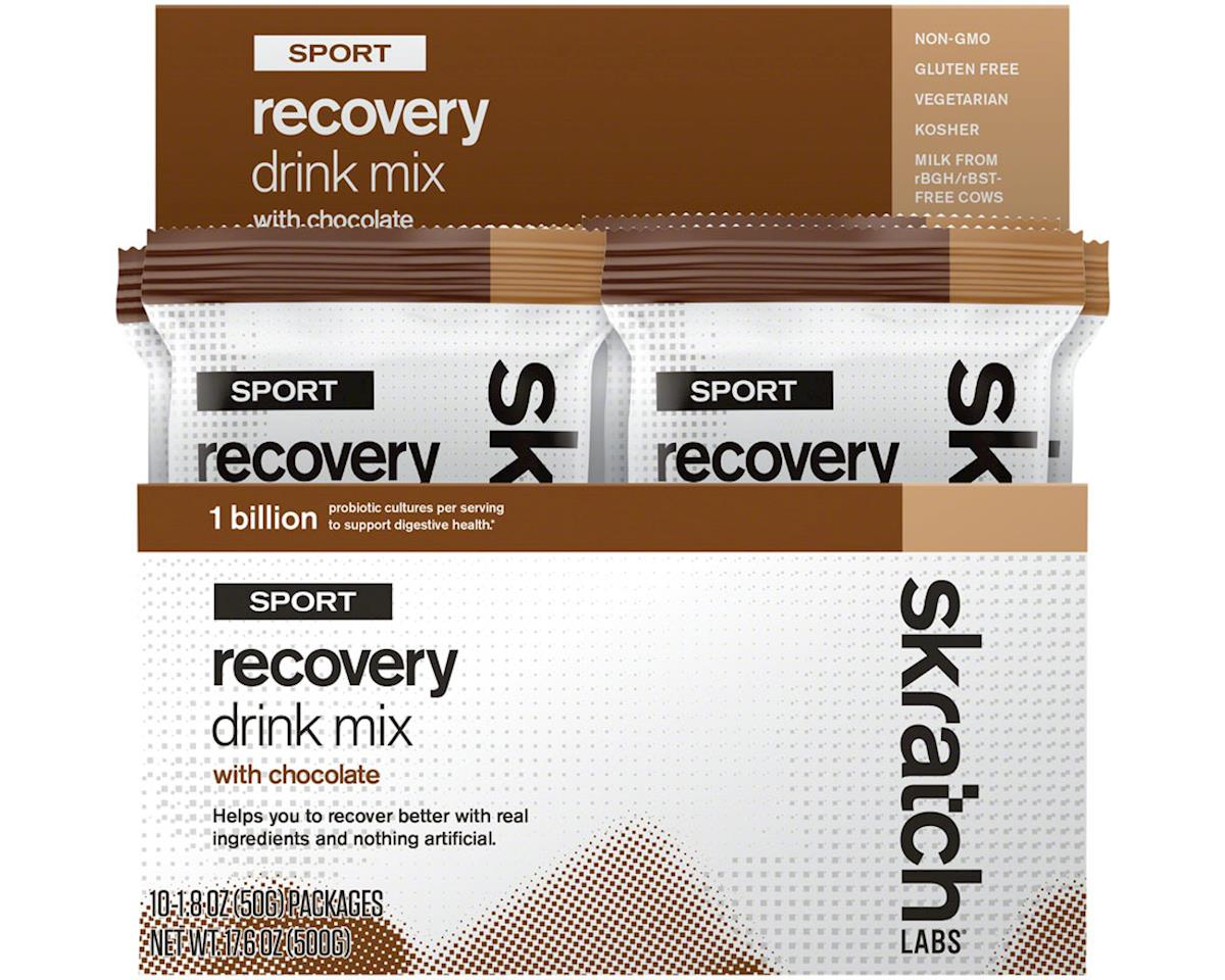 Skratch Labs Sport Recovery Drink Mix (Chocolate) (10 1.8oz Packets)