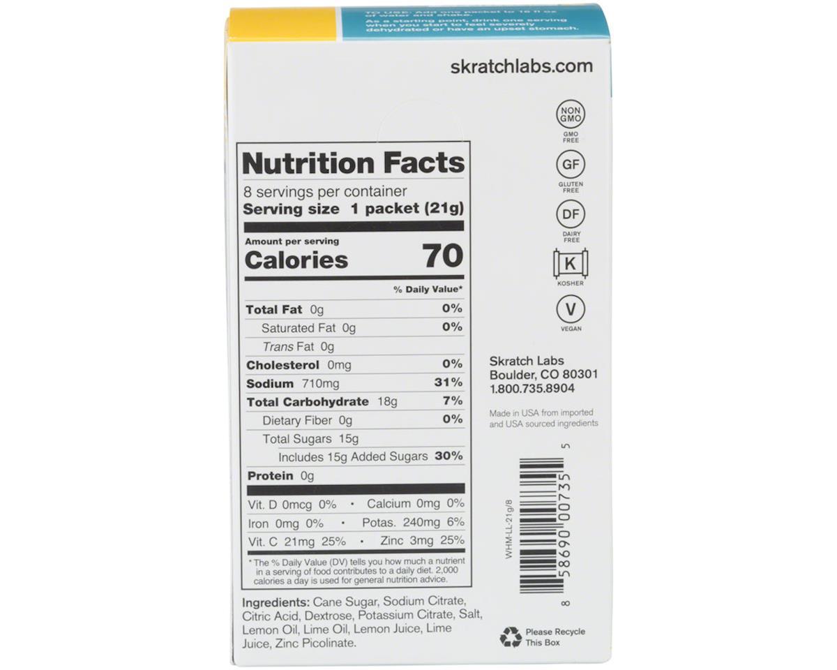 Skratch Labs Wellness Hydration Drink Mix (Lemon Lime) (8 0.7oz Packets)